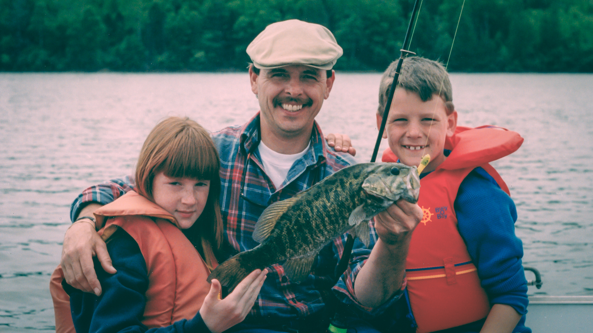 Fishing on the St. Croix River is fun for all the family.