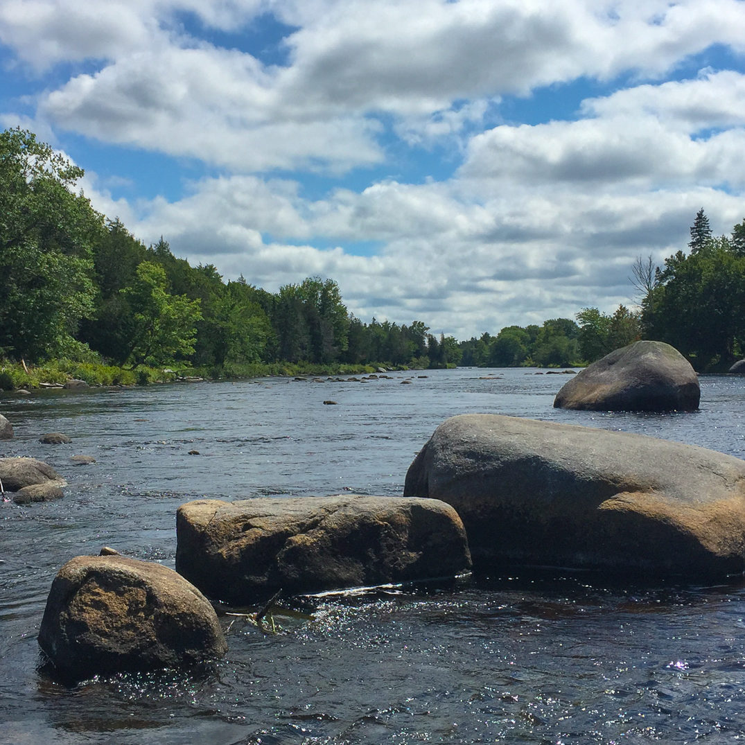 Enjoy the calm waters of the St. Croix River on your group vacation.